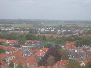 Middelburg uit de toren.